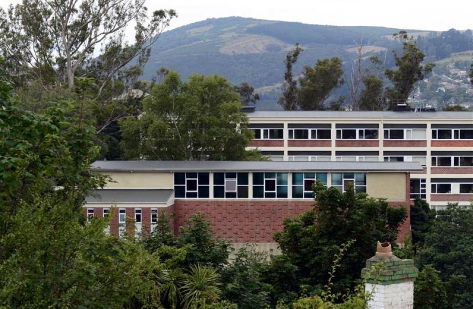 Aquinas College gymnasium (front).