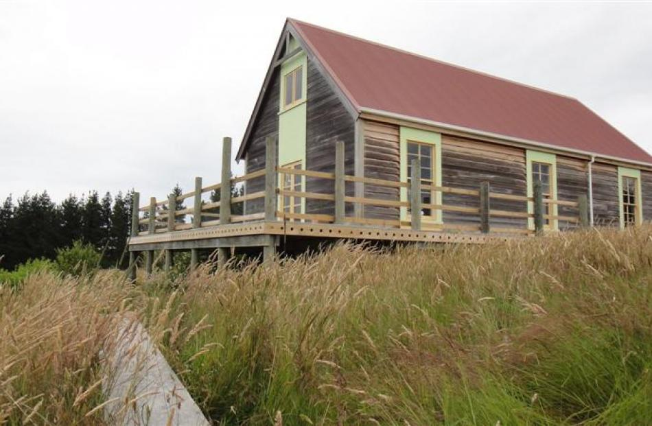Ian's ''shed'' recreates a little of New Zealand's rural past.