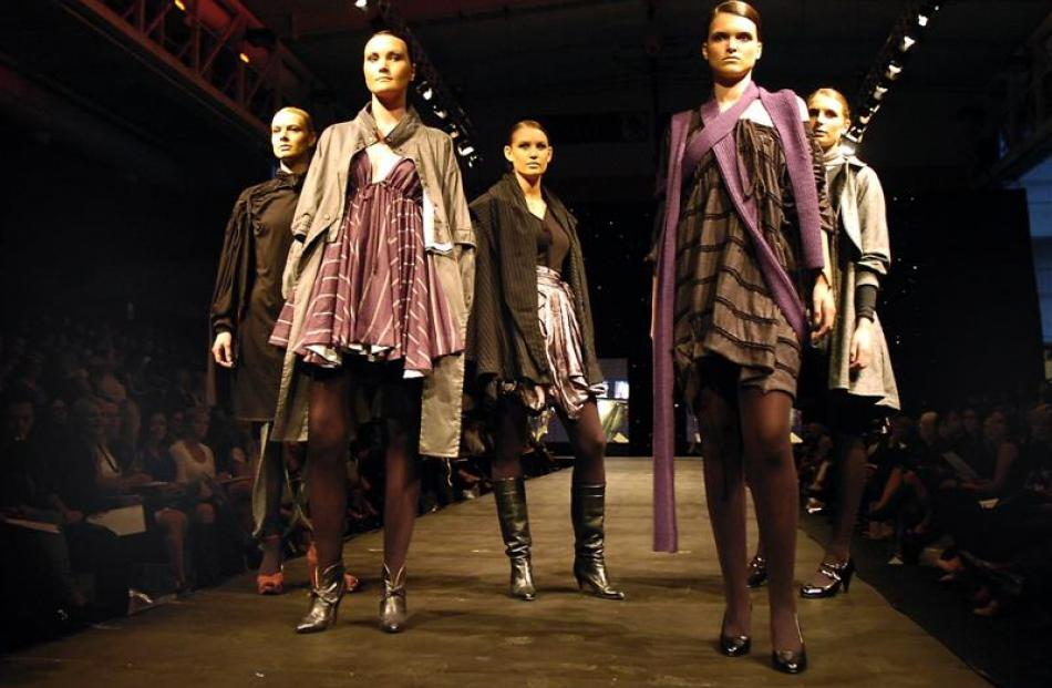 The collection of Australian designer Sophie Russo took away top honours in 2008.