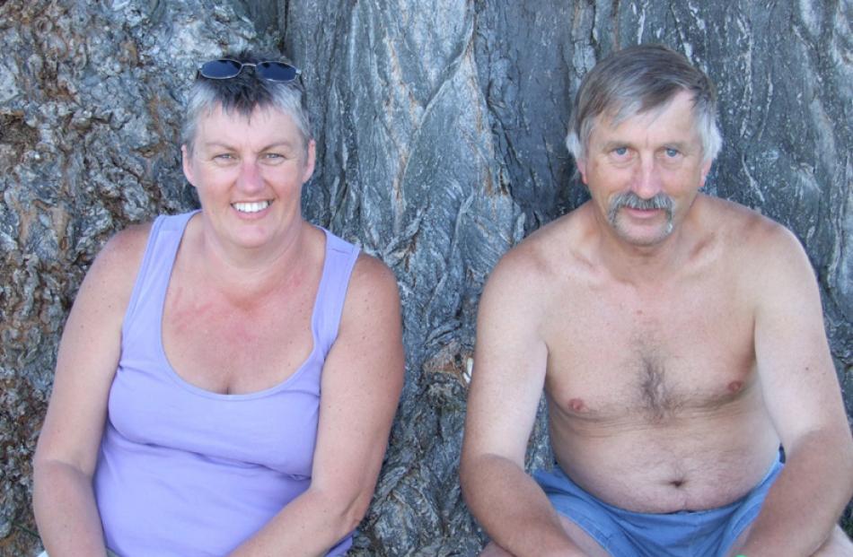 Bev and Malcolm Ramsay, of Dunedin.