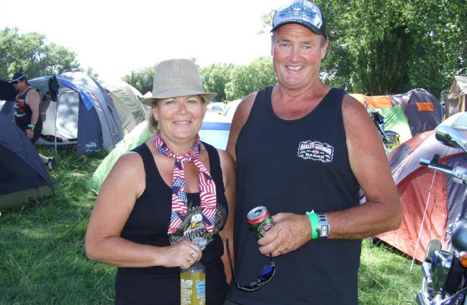 Glenice and Kevin Johnston, of Dunedin.