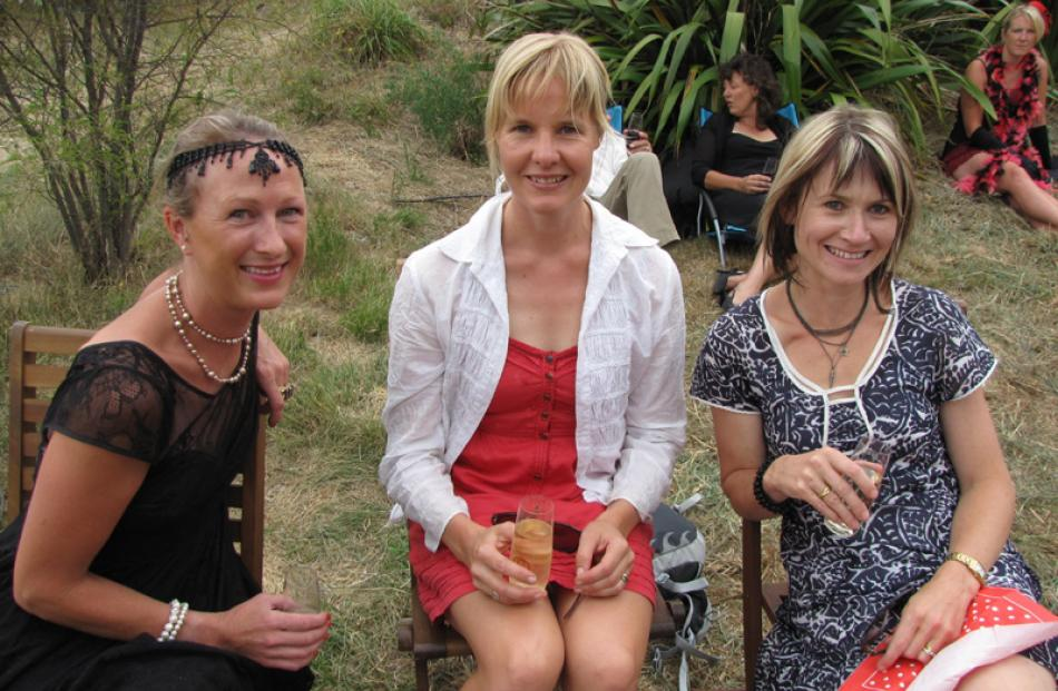 Charlotte McCully of Timaru, Angela Mote of Wanaka, and Emily McRae of Glendhu Bay.