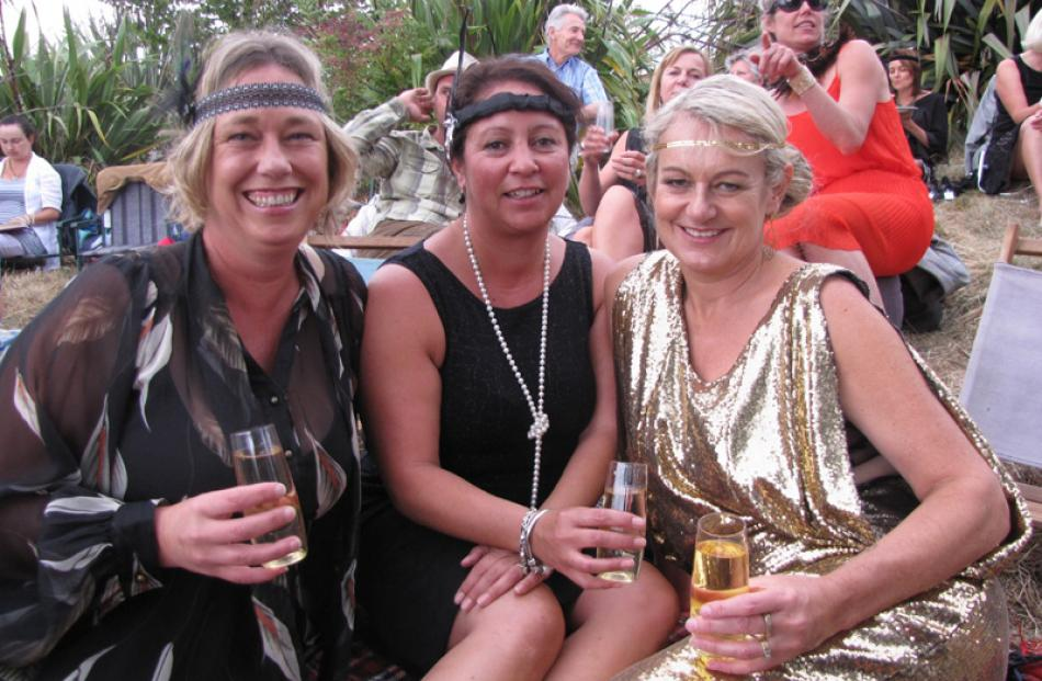 Fi McArthur, of Auckland, and Tanya Jones and Anna Brewster, both of Wanaka.