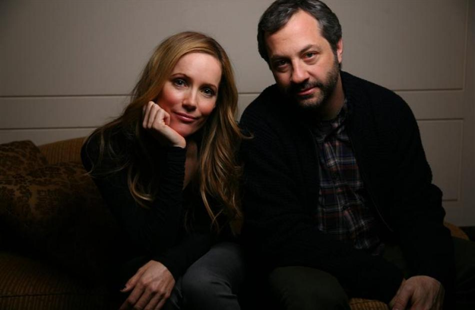 Spouses Leslie Mann and Judd Apatow based their movie This is 40 on their real-life experiences.
