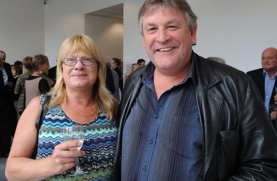 Bridget and John Wren, of Dunedin.