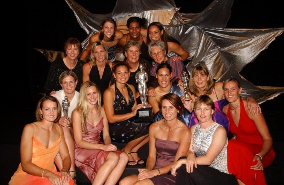 2004 winner the Silver Ferns netball team.