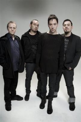 Shihad (from left) Phil Knight, Karl Kippenberger, Jon Toogood and Tom Larkin.