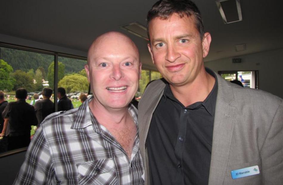 Steve Wilde (left) and J.D. Marrable