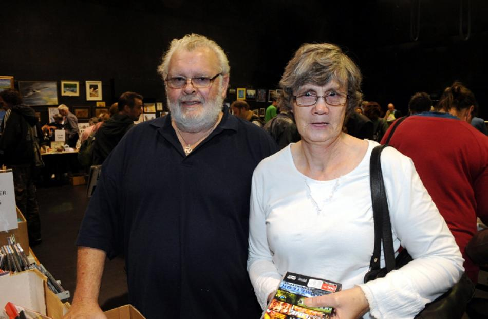 Garry and Val Sparrow, of Mosgiel.