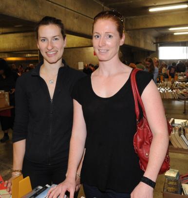 Ilka Fedor and Julia Witter, both of Dunedin.