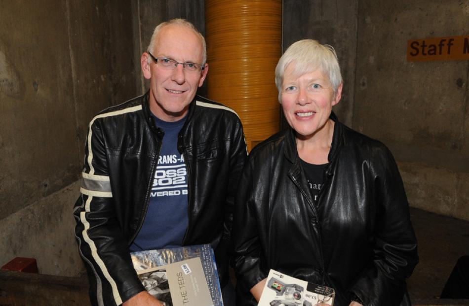 Rob King and Lorraine Macmillan, both of Dunedin.