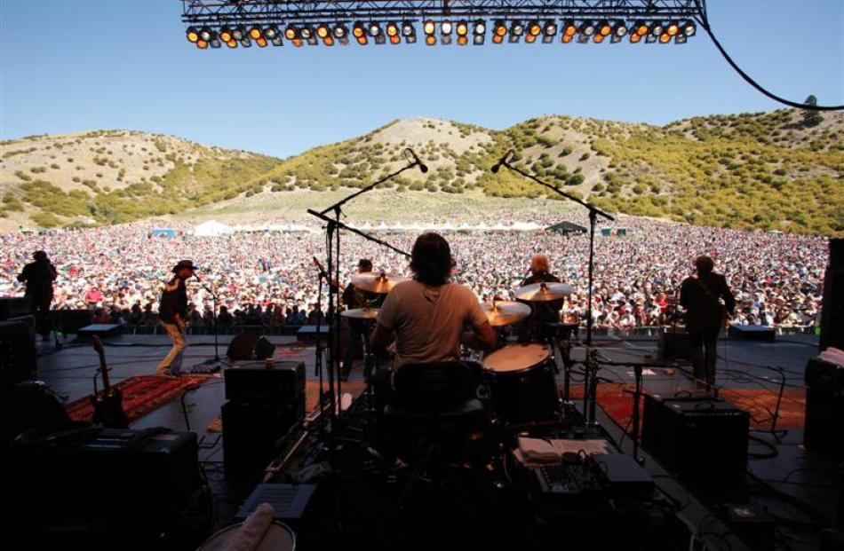 Bachman and Turner perform to 15,000 people in Gibbston Valley ahead of headline act Pat Benatar...