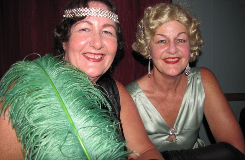 Alexandra de Burgh and Milly de Burgh, both of Invercargill.