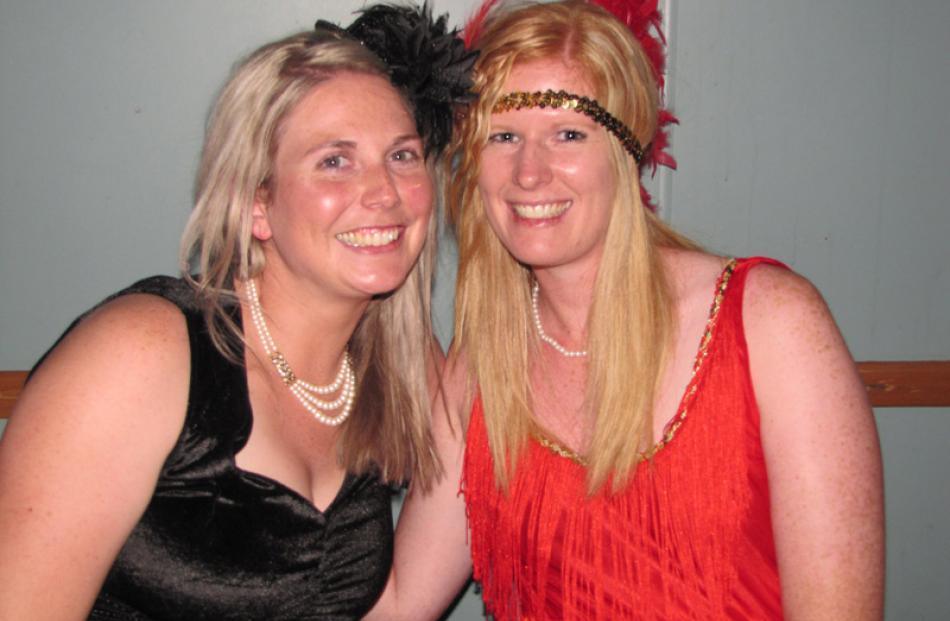 Amanda Bell, of Invercargill and Kylie Duncan, of Wanaka.