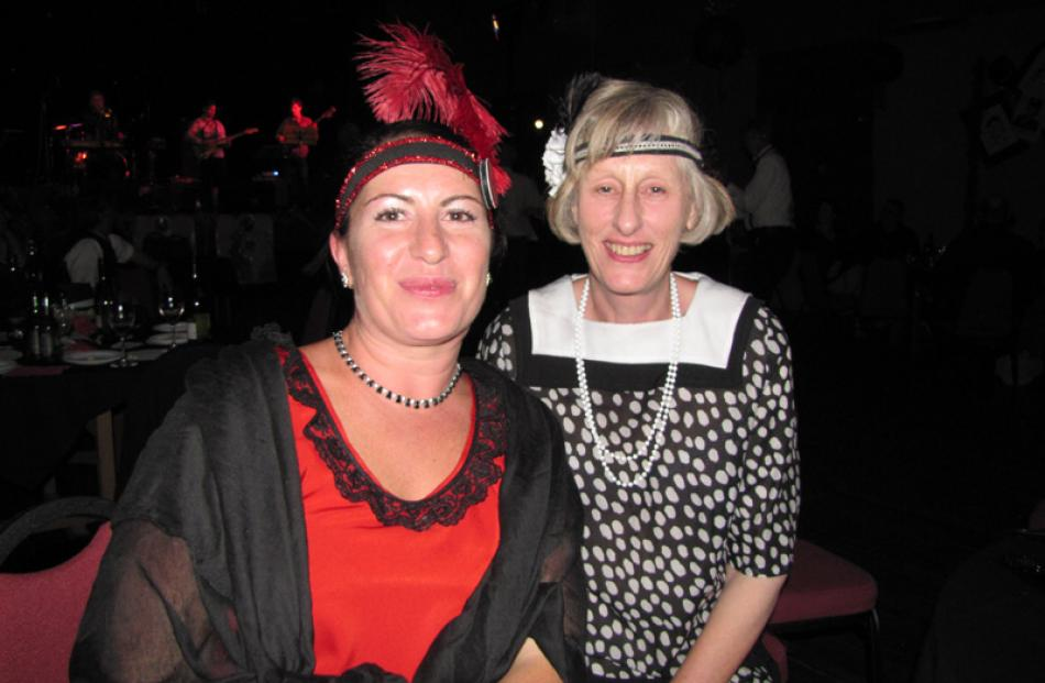 Amie Pont and Diane Paterson, both of Ranfurly.