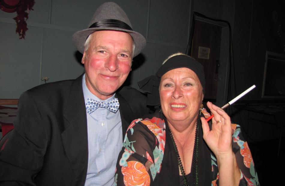 Bill McIntyre and Suzy de Louw, both of Ranfurly.