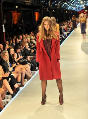 Carlson accommodates harsh winter weather with long woollen coats.