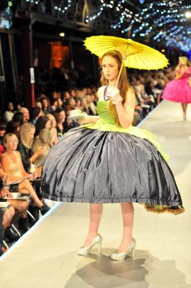 From the graduate collection of Dunedin designer Tansy Morris.