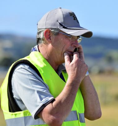 The plane's owner, Richard Small of Hamilton, reacts to the accident.
