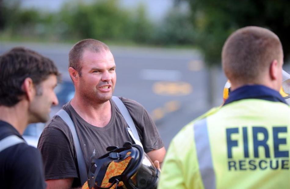 Ravensbourne Volunteer Fire Brigade member Regan Soper is more focused on using his skills to...
