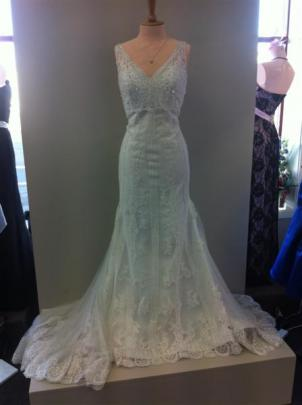 Bridal gown from Je T'aime, Dunedin