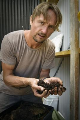Vermicast (worm poo) is black gold for your garden, says Ben Elms. Photos supplied.