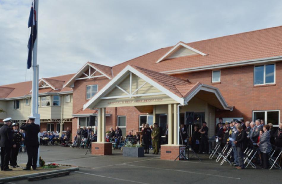 Montecillo Veterans' Home, Dunedin.