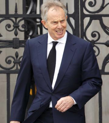 Tony Blair wouldn't meet the Dalai Lama when he was British Prime Minister.(Photo by Indigo/Getty...