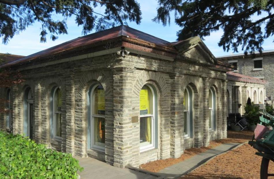 The 137-year-old stone building on the corner of Stanley and Ballarat Sts, Queenstown, is valued...