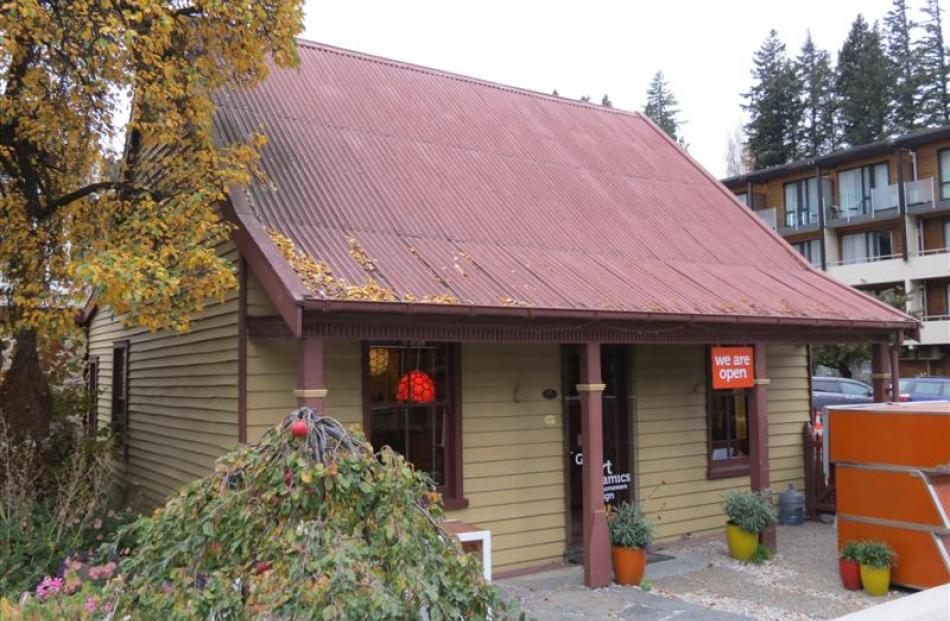 Williams Cottage is Queenstown's oldest building and has been valued at $1.4 million. Photos by...