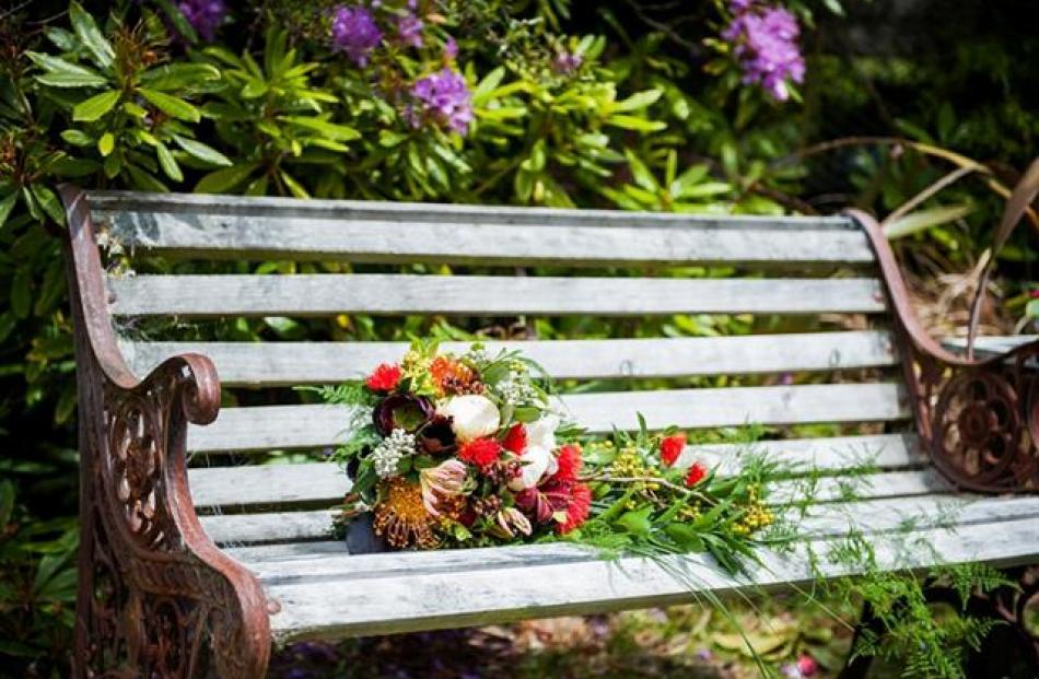 A garden bouquet. Kimberley Cheyne Photography.