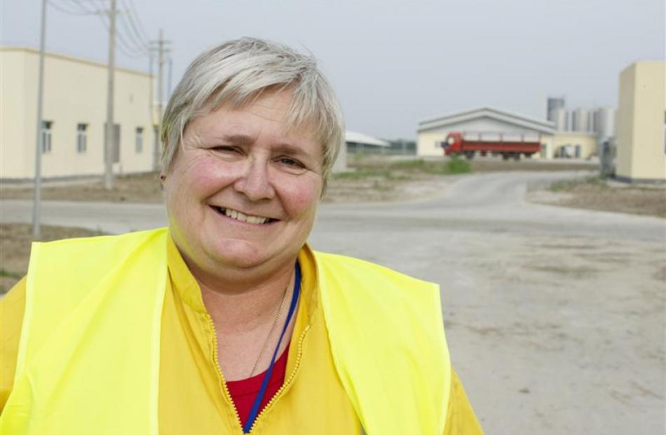 Fonterra China Farms general manager Nicola Morris is relishing the challenge of her job.
