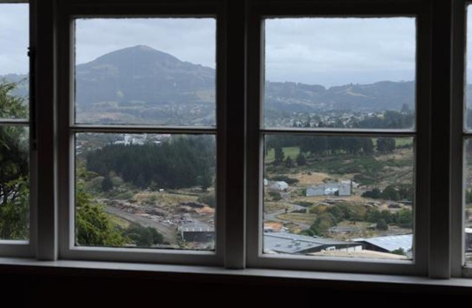 Saddle Hill looms large from the windows of Neil Emmerson's Calton Hill home but he also likes...