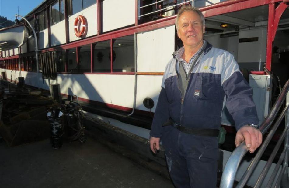 Real Journeys company engineer Brian Humphrey, of Te Anau.