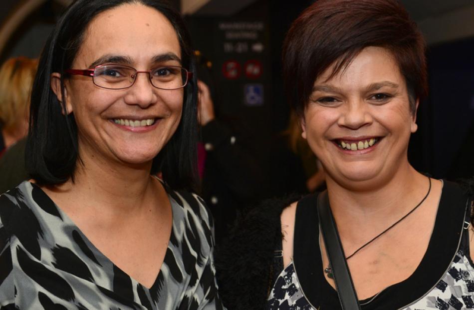 Diane Ruwhiu and Amanda Durham, both of Dunedin.