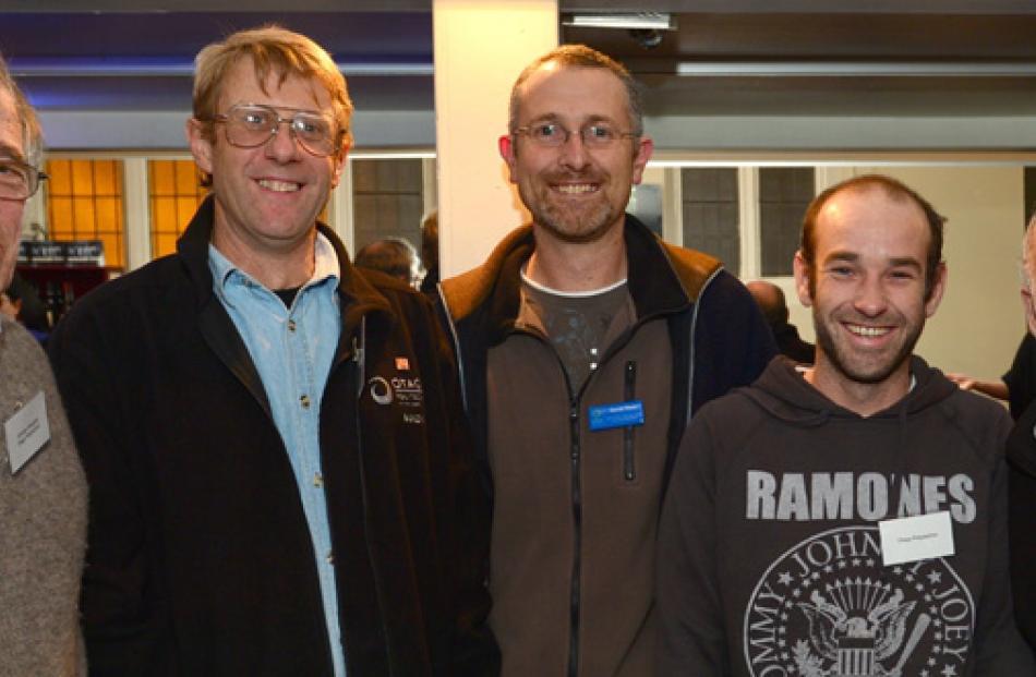 Graham Burgess, Brian Turner, David Wade, Jamie Todd and Franc Humphries, all of Dunedin.