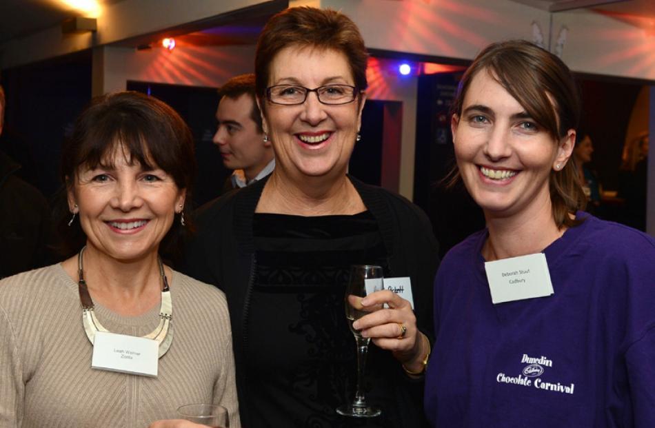 Lea Werner, Roni Pickett and Deborah Stuut, all of Dunedin.