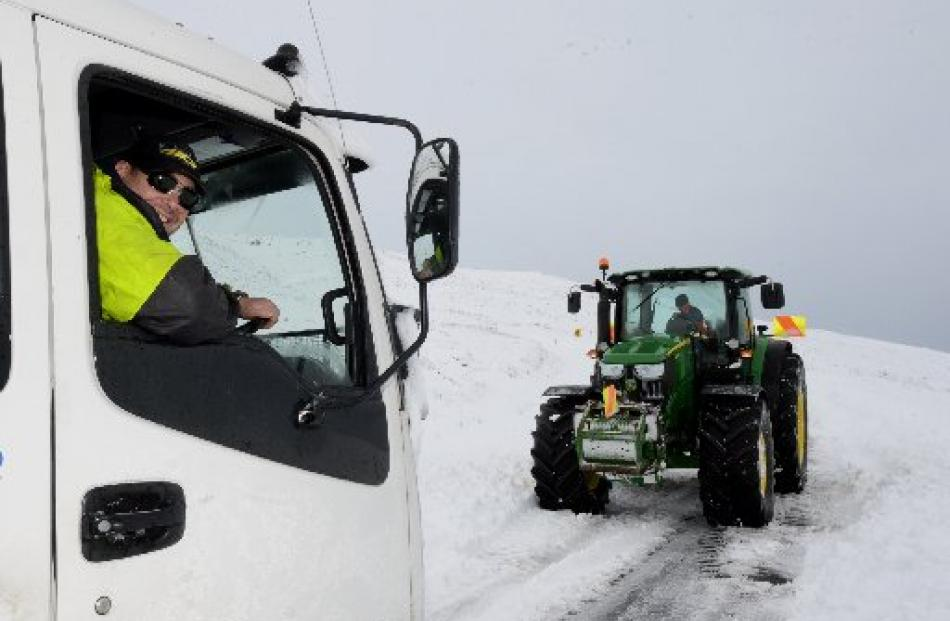 'Otago Daily Times' delivery driver Nathan Williams is finally on his way after a helping hand...