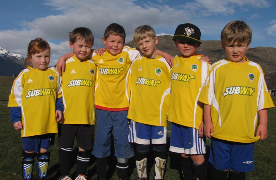 Emmerson Dickson (4), Blake Brown (5), Alfie Moffatt (6), Josh May (6), Toby Hines-Cavanagh (6)...
