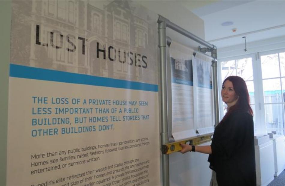 Otago Museum Design Services officer Shanaya Allen is the designer for the ''Heritage Lost and...