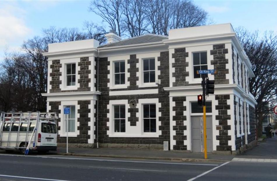 The  H.D. Skinner Annexe - formerly the North Dunedin Post Office and the Otago Art Society rooms...