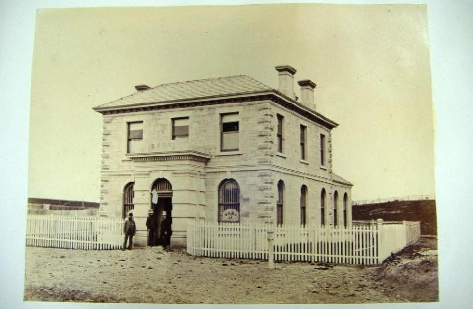 The building, photographed about 1880, was a symbol of reassurance for the local population.