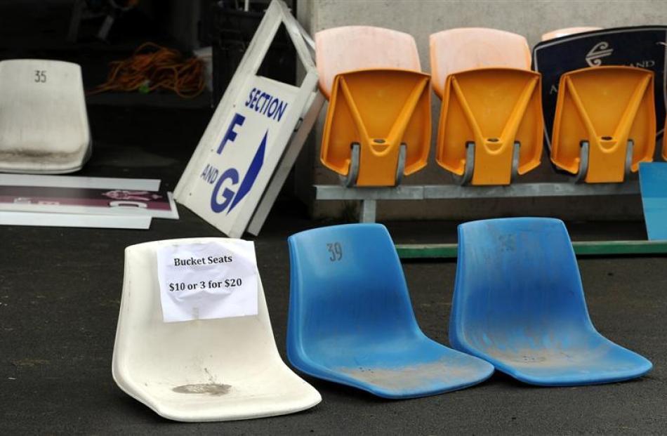 Bucket seats for sale.