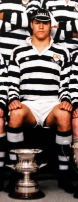 Tom Palmer, the English lock, played for the Otago Boys' First XV in 1997.