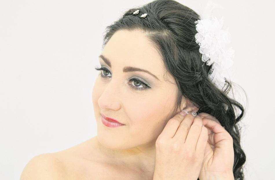 Larisa Matiagina married Christopher Swift in Dunedin in April. MOIRA CLARK M.PHOTG,  NZIPP, AIPP