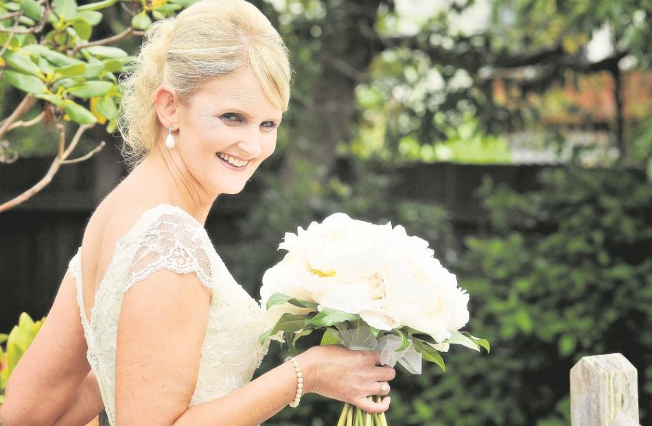Debbie McInnes' marriage to Daniel Chin was celebrated in December in Dunedin....