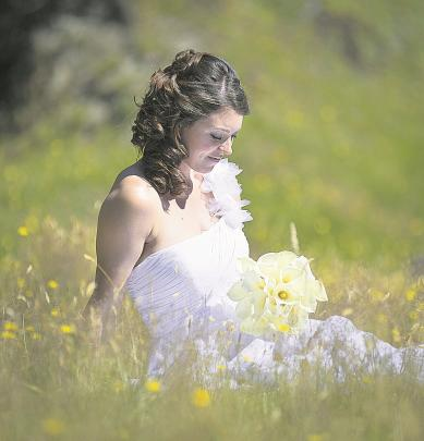 Michelle's February marriage to Alistair Bates took place in Wanaka.