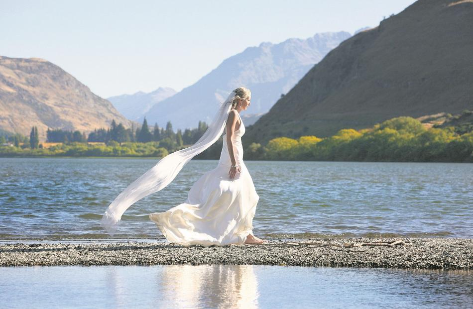 Leana Wilson married Simon Coulter in February at the Mt Soho Winery, Arrowtown.