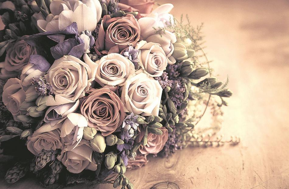 The bouquet of Hannah, who married Drew Campbell at Grandview Gardens. O'NEILL PHOTOGRAPHICS