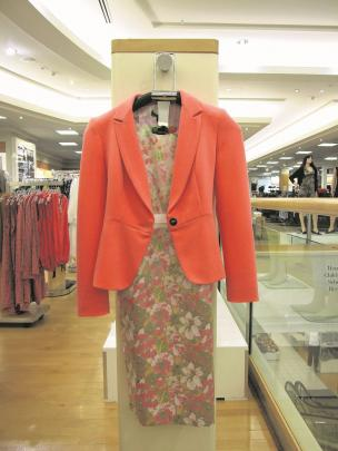 Crop Dead Gorgeous jacket teamed with Rosebud dress, both from Boardroom By Trelise Cooper, at...
